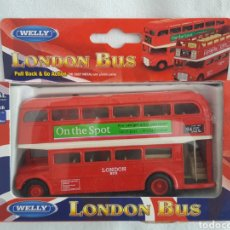 Coches a escala: WELLY LONDON BUS REF. 99930. Lote 194992370