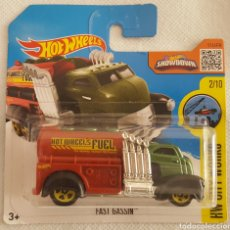Coches a escala: HOT WHEELS FAST GASSIN 2:10. Lote 195012373