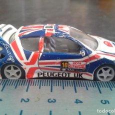 Coches a escala: COCHE PEUGEOT 206 UK WRC NARANJA DE GUISVAL ECHO EN ESPAÑA. Lote 195054650