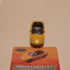 Coches a escala: COCHE DE METAL LE PIKKOLE PORSCHE CARRERA 4 911 ESCALA 1/87. Lote 195151342
