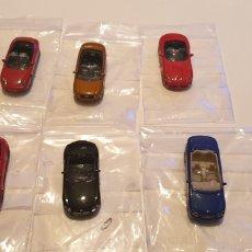Coches a escala: LOTE 6 COCHE DE METAL LE PIKKOLE MERCEDES BMW ALFA AUDI VIPPER PORSCHE ESCALA 1/87. Lote 195152633