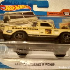 Coches a escala: LAND ROVER SERIES III PICKUP. Lote 195237172