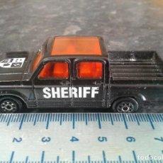 Coches a escala: CHEVROLET PICK-UP SHERIFF Nº 217 DE MAJORETTE ESCALA 1/76 . COCHE . . Lote 195241927