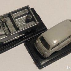 Coches a escala: EKO TOYS PRIMERAS SERIES AÑOS 70 SEAT FIAT MULTIPLA Y JEEP. Lote 195345636