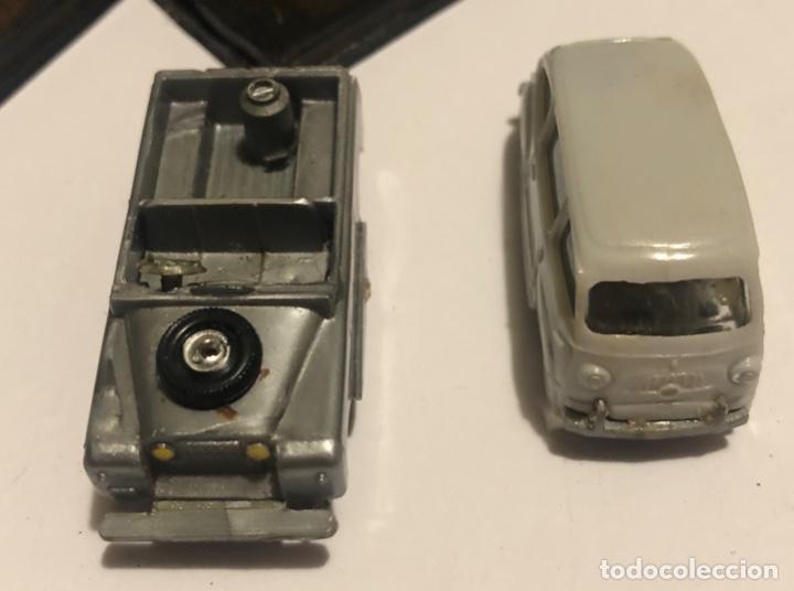 Coches a escala: Eko toys primeras series años 70 SEAT FIAT MULTIPLA Y JEEP - Foto 2 - 195345636