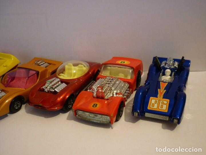 Coches a escala: Coleccion de 6 Matchbox Lesney Superfast. Tipo Dragster y Hot Rod. Producidos en los años 70. - Foto 2 - 195368268
