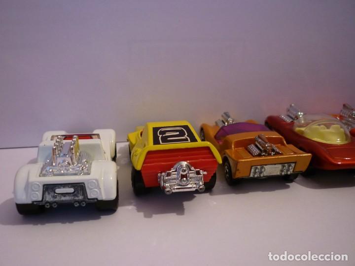 Coches a escala: Coleccion de 6 Matchbox Lesney Superfast. Tipo Dragster y Hot Rod. Producidos en los años 70. - Foto 4 - 195368268