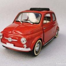 Coches a escala: FIAT 500 SOLIDO REF. 8043 ESCALA 1/16 (1:16) MADE IN FRANCE (ALGÚN DEFECTO).. Lote 195489827