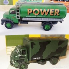 Coches a escala: VANGUARDS: CAMIONES BEDFORD ARMY Y POWER PETROL ESCALA 1:64 - CLASSIC VEHICLES - DOBLES CAJAS. Lote 195504353