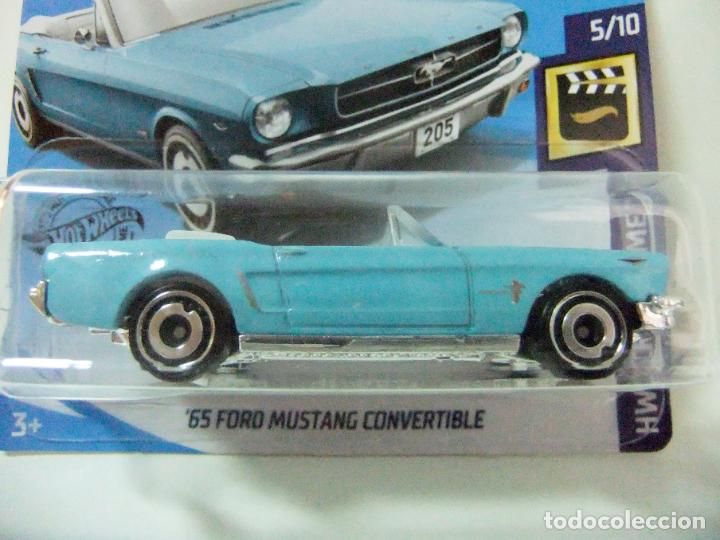 /'65 Ford Mustang Convertible Hot Wheels 2020 Case C Hw Screen Time 5//10 Mattel