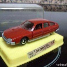 Coches a escala: CITROEN CX 2400 PALAS 1/64 DE JUGUETES MIRA CHASIS METALICO NUEVO CON SU CAJA. Lote 196314256