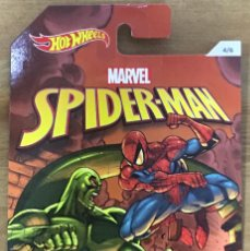Coches a escala: HOT WHEELS MATTEL MARVEL SPIDERMAN - JADED. Lote 196378221