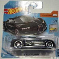 Carros em escala: HOT WHEELS. 16 BUGATTI CHIRON.. Lote 196497018
