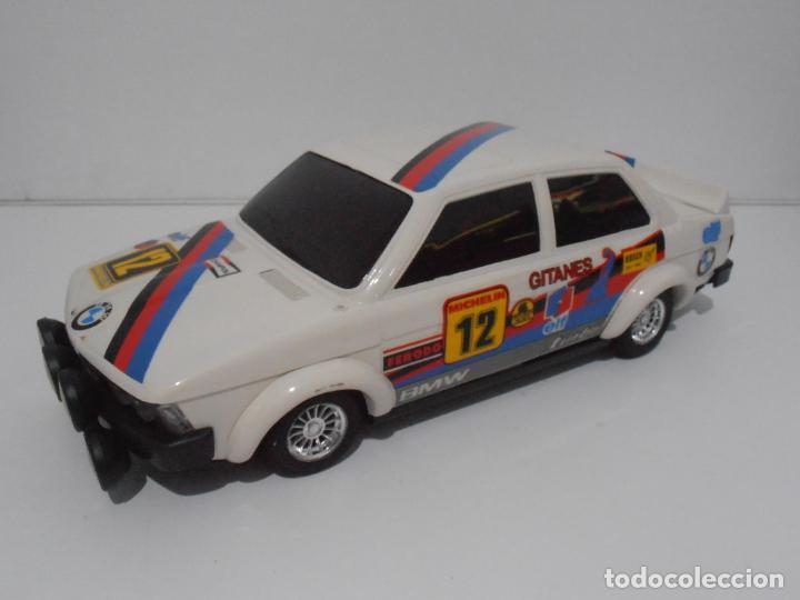Coches a escala: COCHE BMW RALLYE GITANES, SERIE AUTOS, CLIM, RETROFRICCION, NUEVO DE JUGUETERIA, AÑOS 80 - Foto 6 - 197606897