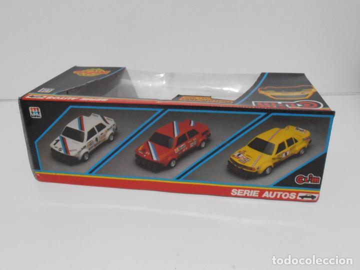 Coches a escala: COCHE BMW RALLYE GITANES, SERIE AUTOS, CLIM, RETROFRICCION, NUEVO DE JUGUETERIA, AÑOS 80 - Foto 8 - 197606897