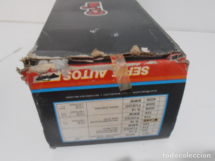 Coches a escala: COCHE RENAULT 18 TURBO BOMBEROS, SERIE AUTOS, SALVAOBSTACULOS, CLIM, NUEVO DE JUGUETERIA, AÑOS 80 - Foto 9 - 197607543