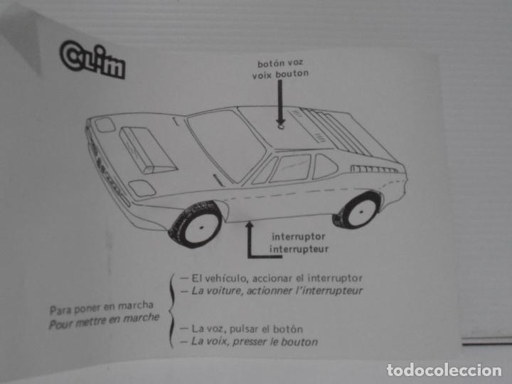 Coches a escala: COCHE BMW FANTASTIC, SERIE AUTOS, SALVAOBSTACULOS, CLIM, NUEVO DE JUGUETERIA, AÑOS 80 - Foto 2 - 197608040