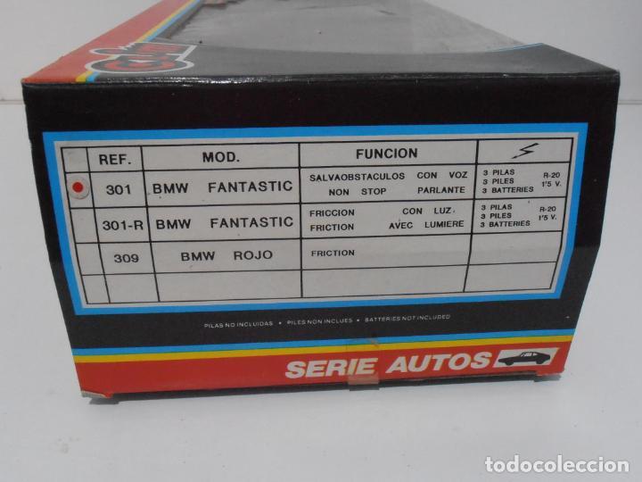 Coches a escala: COCHE BMW FANTASTIC, SERIE AUTOS, SALVAOBSTACULOS, CLIM, NUEVO DE JUGUETERIA, AÑOS 80 - Foto 8 - 197608040