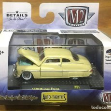 Coches a escala: M2 MACHINES 1949 MERCURY COUPE (METALICO) PREMIUM EDITION. Lote 197626010