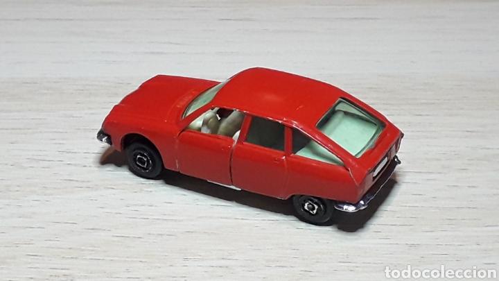Coches a escala: Citroën GS, metal esc. aprox. 1/64, Guisval Ibi Spain, Campeón, años 70. - Foto 6 - 197865571