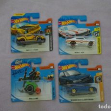 Auto in scala: LOTE HOT WHEELS 4 MODELOS DIFERENTES. Lote 198221406