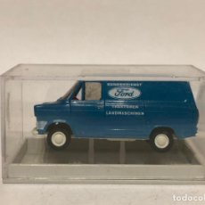 Auto in scala: FORD TRANSIT. ESCALA 1/87. BREKINA. Lote 196418832
