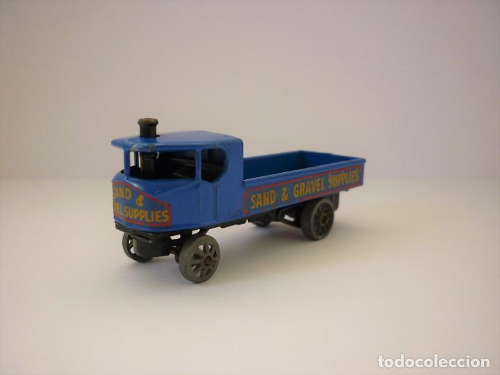 Coches a escala: Moko Matchbox Lesney Yesteryear Nº Y 4 - 1 Sentinel Steam Wagon 1928 Vagon Vapor Sentinel. Año 1956. - Foto 4 - 198326521