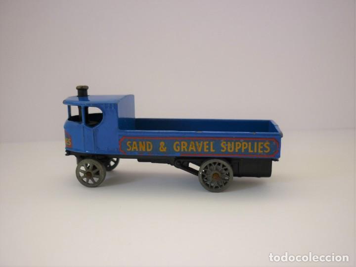 Coches a escala: Moko Matchbox Lesney Yesteryear Nº Y 4 - 1 Sentinel Steam Wagon 1928 Vagon Vapor Sentinel. Año 1956. - Foto 5 - 198326521