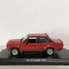 Coches a escala: FIAT 131 ABARTH (1976). ESCALA 1/43. PRESS. Lote 196416190