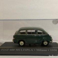 Voitures à l'échelle: FIAT 600 MULTIPLA. ESCALA 1/43. DG. Lote 196416597