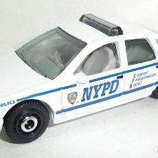 Coches a escala: CHEVY POLICE CAPRICE MATCHBOX ESCALA 1:64. Lote 199075893