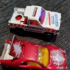 Coches a escala: MAJORETTE DEPANNEUSE, SPORT CAR. Lote 199887618