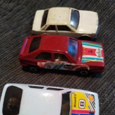 Coches a escala: LOTE MIRA, GUISVAL RENAULT, AUDI, BMW. Lote 199888366