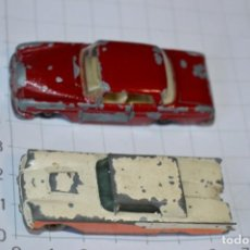 Coches a escala: LOTE DIECAST -- MATCHBOX BY LESNEY -- SERIES NÚMERO 53 Y 75 / MADE IN ENGLAND ¡MIRA FOTOS/DETALLES!. Lote 200158771