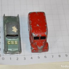 Coches a escala: LOTE DIECAST -- MATCHBOX BY LESNEY -- SERIES NÚMERO 27 Y 47 / MADE IN ENGLAND ¡MIRA FOTOS/DETALLES!. Lote 200161023
