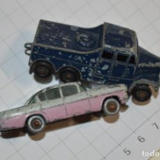 Coches a escala: LOTE DIECAST -- MATCHBOX BY LESNEY -- SERIES NÚMERO 22 Y 6X6 / MADE IN ENGLAND ¡MIRA FOTOS/DETALLES!. Lote 200167203