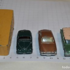 Coches a escala: LOTE DIECAST - MATCHBOX BY LESNEY - SERIES NÚM 7, 28, 31 Y 65 / MADE ENGLAND ¡MIRA FOTOS/DETALLES!. Lote 200170692