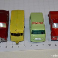 Coches a escala: LOTE DIECAST - MATCHBOX BY LESNEY - SERIES NÚM 21, 23, 24 Y 71 / MADE ENGLAND ¡MIRA FOTOS/DETALLES!. Lote 200289678
