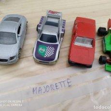 Coches a escala: LOTE COCHES MAJORETTE COLECCIION ALFA75, AUDITT F1 RACING, MARCHBOX. Lote 200331762