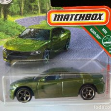 Coches a escala: MATCHBOX DODGE CHARGER 2018 - 1/64. Lote 200540117