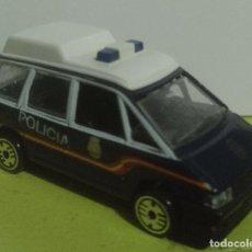 Coches a escala: RENAULT ESPACE UIP - POLICÍA NACIONAL - ESCALA 1/60 - 1/64 APROX. GUISVAL. Lote 200647387