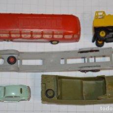 Coches a escala: LOTE ANGUPLAS MINI CARS - ESCALA 1/86 - ANTIGUO / ORIGINAL - ¡MIRA FOTOS Y DETALLES!. Lote 200851386