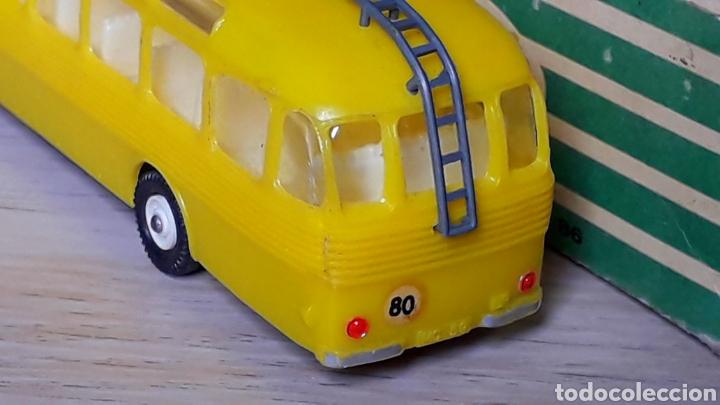 Coches a escala: Autobus Pegaso *Amarillo* ref. 59, plástico esc. 1/86 H0, Anguplas Mini-Cars, original 1960. - Foto 2 - 200865818