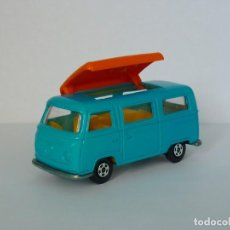 Coches a escala: MATCHBOX LESNEY SUPERFAST Nº 23 VOLKSWAGEN CAMPER. AÑO 1970.. Lote 201125002