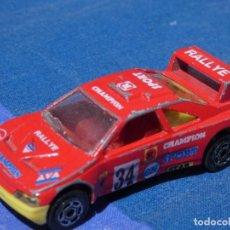 Auto in scala: COCHECITOS ARKANSAS 1980: VER FOTO:1/64 MAJORETTE PEUGEOT 405 T 16 1 PUNTA PARACH ROTA. Lote 202659432