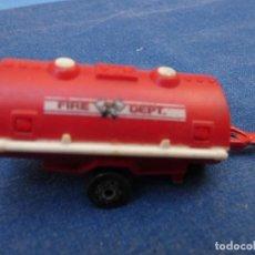 Auto in scala: COCHECITOS ARKANSAS 1980: VER FOTO:1/64 MAJORETTE 1/64 REMOLQUE FIRE DEPT. Lote 202706856