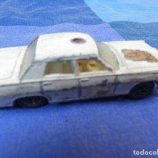 Auto in scala: COCHECITOS ARKANSAS 1980: 1/64 O SIMILAR: COCHE POLICIA MERCURY MATCHBOX 55 OR 73 LESNEY SIRENA ROJA. Lote 202741722
