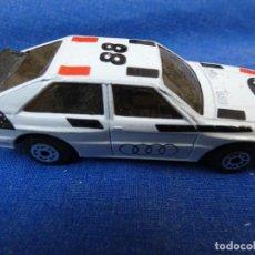 Auto in scala: COCHECITOS ARKANSAS 1980: 1/64 O SIMILAR: AUDI QUATTRO DE TOY. Lote 202742755