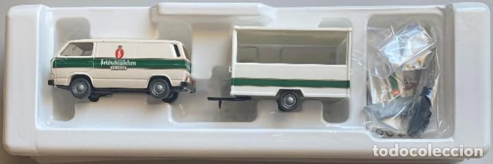 ROCO - 1:87 - 1434 - VW T3 + ENGANCHE - FELDSCHLÖSSCHEN PILSNER (Juguetes - Coches a Escala Otras Escalas )