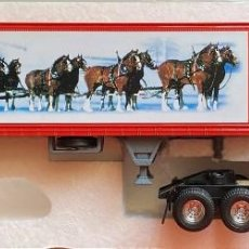 Coches a escala: MATCHBOX ULTRA - 1:58 HOLIDAY GREETINGS BUDWEISER. Lote 202895075